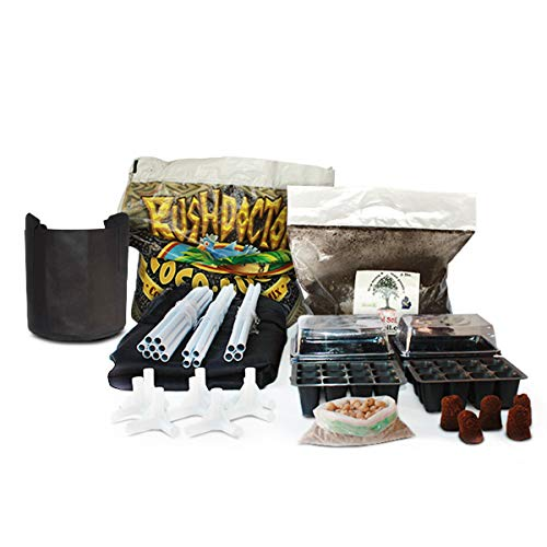 """New Complete Indoor Grow Kit With Fan, Soil, 24""""x24""""x60"""" Hut - Everything You Need to Grow Plants Inside Hydroponic System 10"""