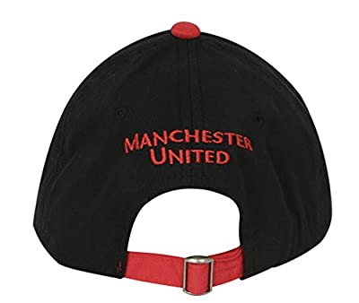Manchester United Hat Cap Adjustable 2-Tone-Black/Red