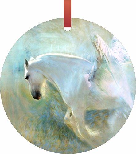 Horse Angel Ornament - 5