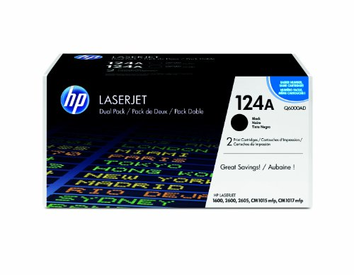 HP Q6000A Color LaserJet Print Cartridge – Retail Packaging – 2 Pack, Office Central