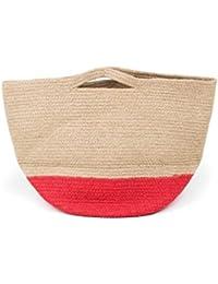 Jute beach bag - H & M