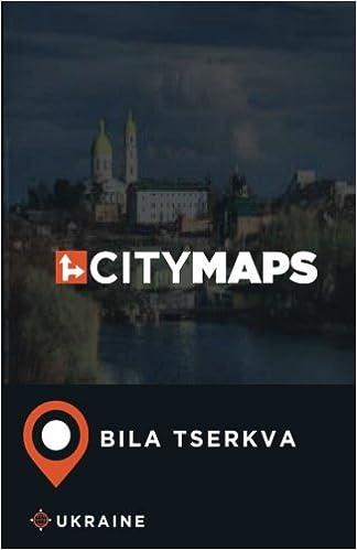 City Maps Bila Tserkva Ukraine James McFee Amazon - Bila tserkva map