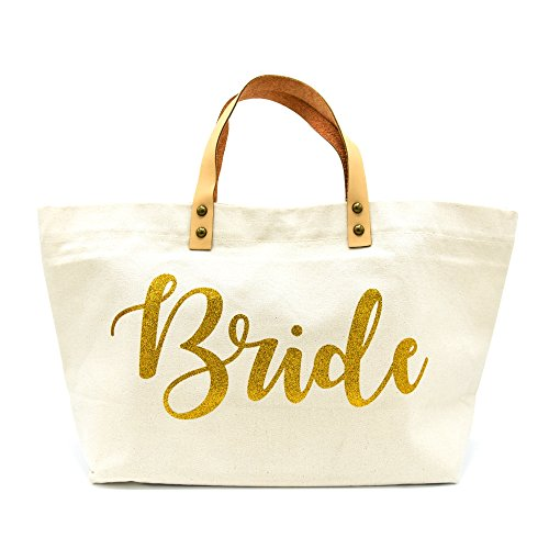PumPumpz Personalized Gifts Wedding Bride Canvas Tote Bags