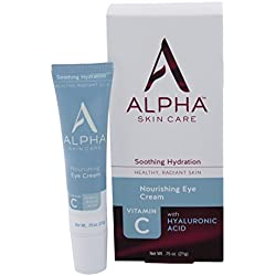 Alpha Skin Care Nourishing Eye Cream For All Skin Types, 0.75 Ounce (Packaging May Vary)