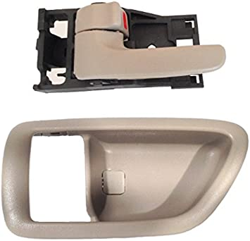 2 New Inside Door Handles With Bezel Pair Front Or Rear Left And Right Interior
