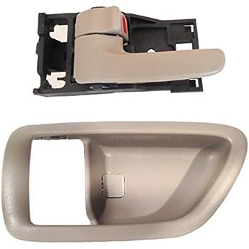 Inside Door Handle Bezel Case Cover Left Driver For 00-04 Toyota Avalon Gray