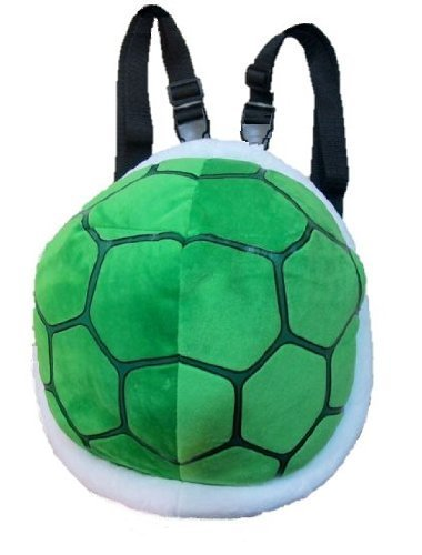 mmc Koopa wind backpack bag turtle turtle turtle shell Koura Super Mario Cosplay Costume (japan import) (Blue Turtle Shell Mario)