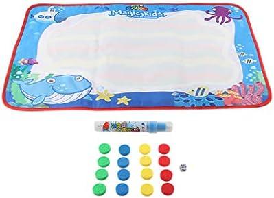 [해외]Educational Learning Toys Gift for Girls Boys BabyKids Children`s Water Drawing Painting Writing Mat Board Magic Pen Doodle Toy Gift 69×44 cm Children Toy Gift (G) / Educational Learning Toys Gift for Girls Boys Baby,Kids Children...