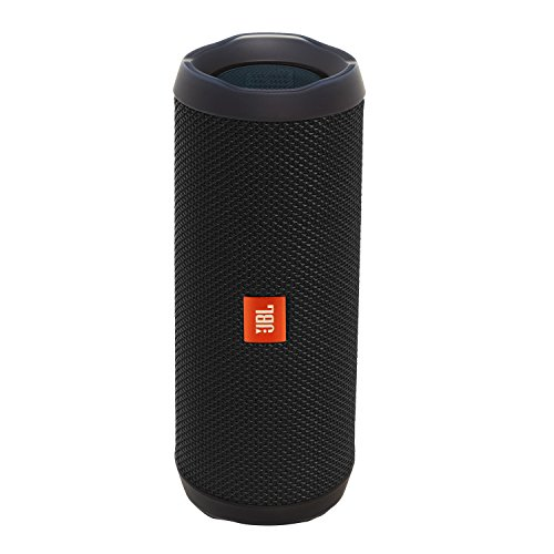 JBL Flip 4 Waterproof Portable Bluetooth Speaker (Black), Medium