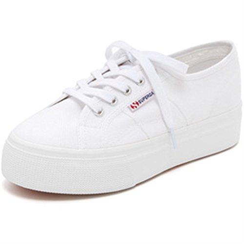 Superga Damen 2790 Acotw Fashion Sneaker Weißes Leder