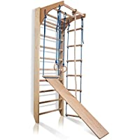 "Wandmeubel klimwand""Kombi-3-240"" Turnwand Fitness Sportapparaat klimrek hout - EU-OPSLAGPLAATS"