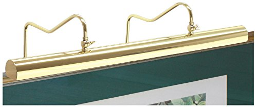 House of Troy HP30-76 Hyde Park Picture Light, 30'', Weathered Brass by House of Troy