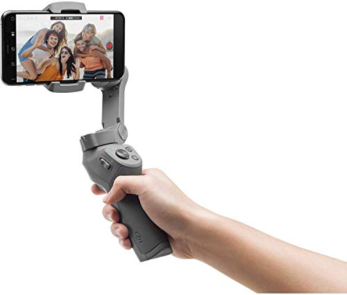 DJI Osmo Mobile 3 Handheld Smartphone Foldable Gimbal - CP.OS.00000022.01 (Renewed)