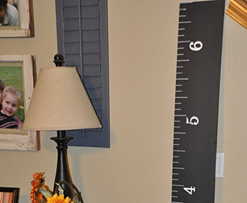 7000 Sold! Wooden Growth Charts Life-size handmade CHALKBOARD growth chart rulers for measuring kids