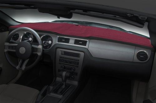 Coverking Custom Fit Dashcovers for Select BMW 318i/325i Models - Poly Carpet (Red) (Carpet Bmw 318i)