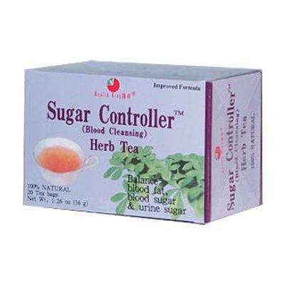 Health King Sugar Controller Blood Cleansing Herb Tea - 20 Tea Bags - Pack Of 1 (Controller Tea Herb Sugar)