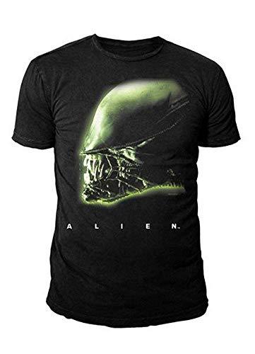 T s Aliens noir À shirt Xl Retour Head gqx5z8WHw
