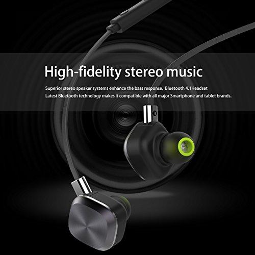 Amazon.com: Wireless Headphones, Origem Bluetooth 4.1 Sports Sweatproof In-ear Earbuds Earphones Headset Noise Cancellation Built-in Mic for Sports Running ...