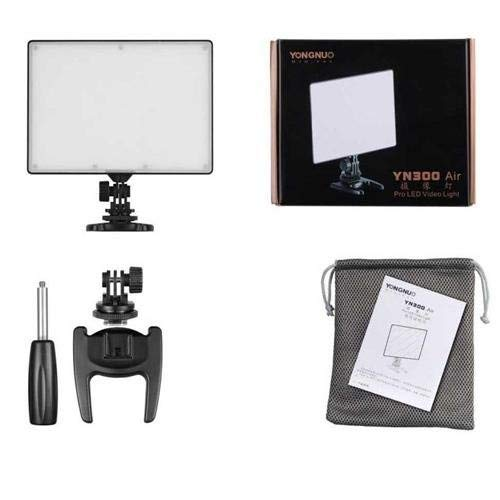 YONGNUO YN300 Air LED Camera Video Light with Adjustable Color Temperature 3200K-5500K for Canon Nikon Pentax Olympus Samsung by YONGNUO