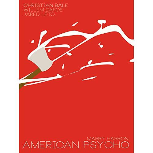Wee Blue Coo Movie Film American Psycho Drama Bale Dafoe LETO USA Art Poster Print 18x24 INCH LV2157