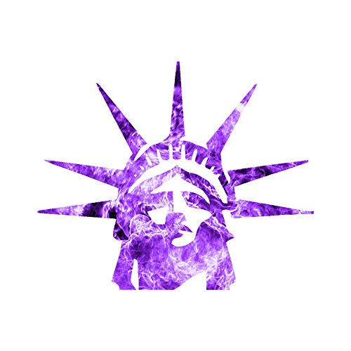 Statue Of Liberty Head - Vinyl Decal Sticker - 4.5