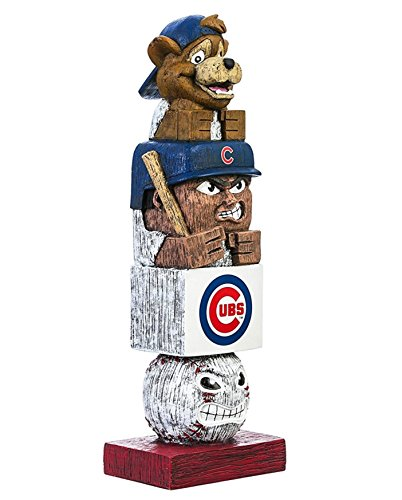 Rico Industries, Inc. Chicago Cubs Tiki Totem Pole 16