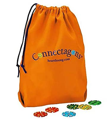 HearthSong Connectagons - Drawstring Storage Bag