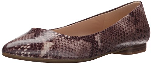 36 5 5 B Multi Women's Flat Toe UK West Nine M Synthetic 4 Dark Natural Pointy B M Onlee EU Pqnvw7Wa