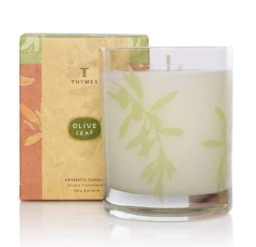 Thymes Aromatic Candle, Olive Leaf, Health Care Stuffs