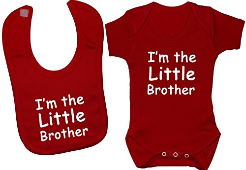 Ensemble Little Acce Body nbsp;mois Brother Products Et Bavoir t Bébé I'm 24 Body shirt barboteuse nbsp;à De The 0 gilet Rose q6xt6r
