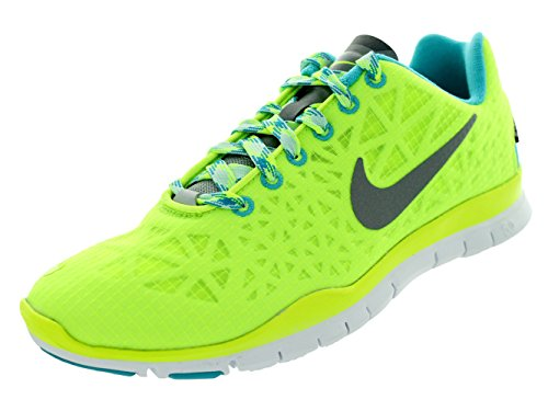 Cheapest cheap online manchester great sale online Nike Women's Free TR Fit 3 All Conditions Volt/Gamma Blue/Teal Tint/Reflect Silver 11.5 B - Medium free shipping with paypal new styles 1qqtf