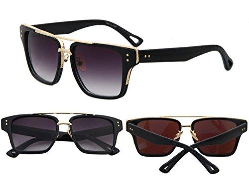 Surprising Day European American Fashion Vintage Rayed Fishing Casal Men Women Top Metal Fun Sun Glasses Brad Pitt Shades Sunglasses - Sunglasses Brad Pitt Aviator