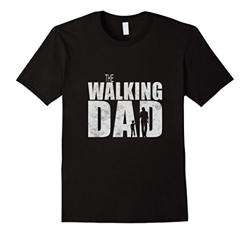 Mens Walking Dad Cool Graphic Fathers Dead Tshirt Medium ...