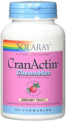 (Solaray Cranactin 200 mg Chewable Tablets, 60 Count)