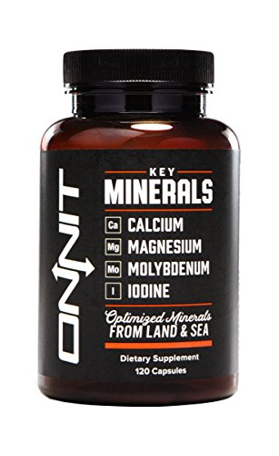 Onnit Minerals Optimized Land 120ct