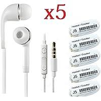 5x in-Ear Stereo Headset Earphone w/ Mic