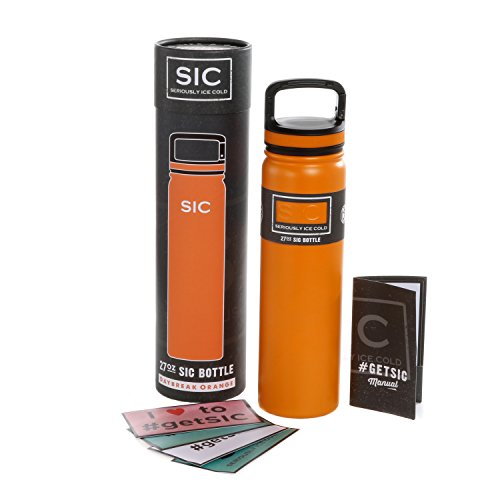 Glacier Stainless Steel Tumbler Orange