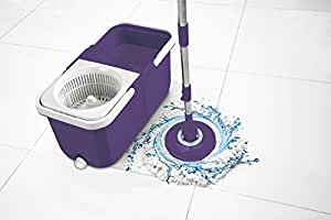 Amazon Com Big Boss Insta Mop The Spinning Action Mop In