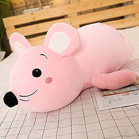 Amazon.com: Almohada de felpa súper suave con diseño de rata ...