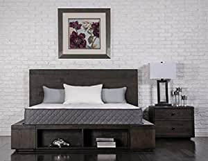 Amazon.com: Dreamfoam Bedding Unwind - Colchón híbrido de ...