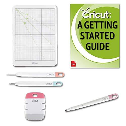 Cricut Scoring Stylus and Essential Paper Crafting Tool Kit Bundle
