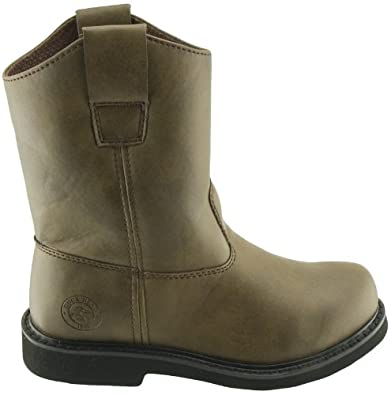 amazon com duck head boys dustin jr boot brown synthetic boots 6 m