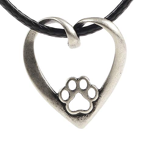 Paw Paw House Elegant Sitting Italian Greyhound Dog Necklace Animal Pendant I Love My Dog Memorial Gift Greyhound Rescue 1252 (1265)