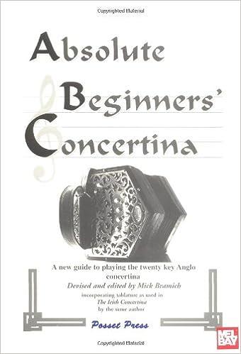 Absolute Beginners Concertina Mick Bramich 9780953783700 Amazon Com Books