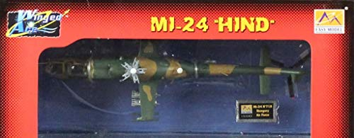 Easy Model 1:72 Winged Ace Mi-24 Hind Helicopter Built Model #37037