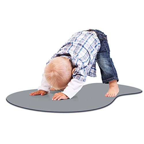 Woombie TOT Toddler Yoga Mat, Gray