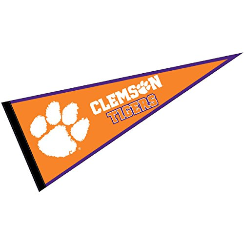 WinCraft Clemson Tigers Pennant Full Size (Tigers Party Pennant Flags)