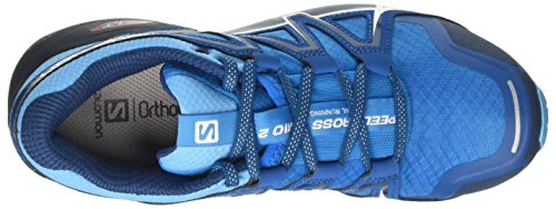 Salomon Speedcross Vario 2 Womens Scarpe da Trail Corsa - SS18 Multicolore (Hawaiian Surf / Aquarius / Mykonos Blue 000)