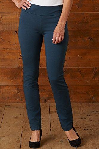 Fair Indigo Fair Trade Organic Slim Leg Knit Pants