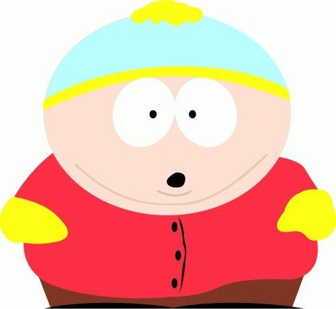 """South Park Cartman Cartoon Bumper Sticker Decal 5""""x 5"""""""